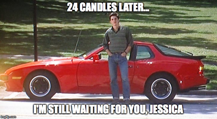 24 candles later... I'm still waiting for you, Jessica