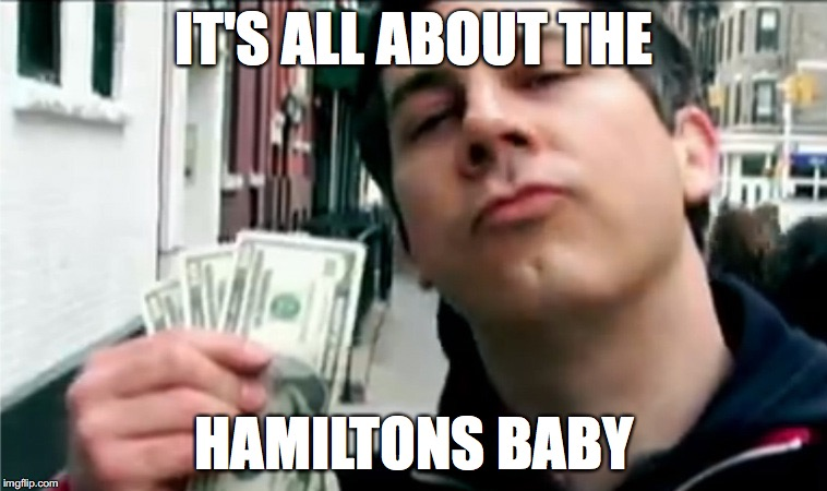 It's all about the Hamiltons baby