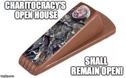 Charitocracy's open house shall remain open!