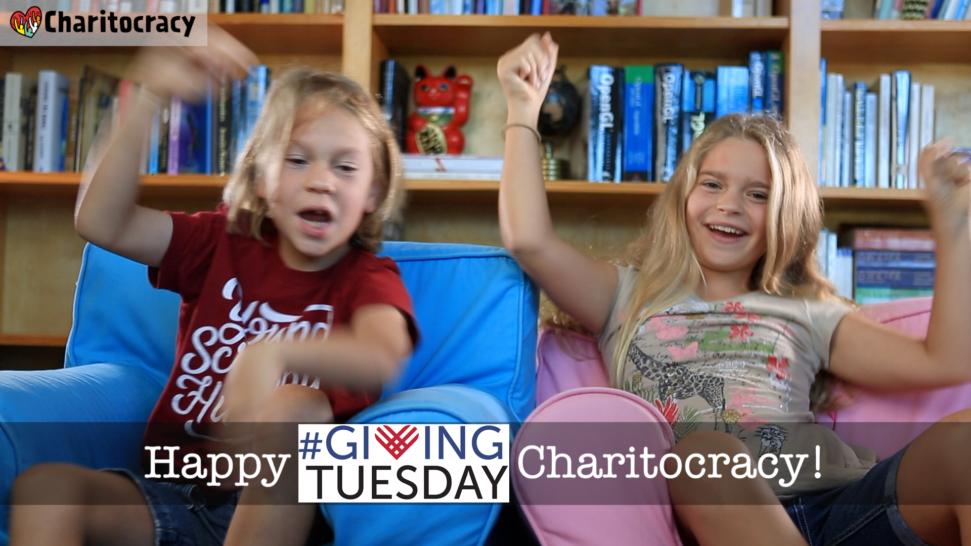 Happy Giving Tuesday, Charitocracy!
