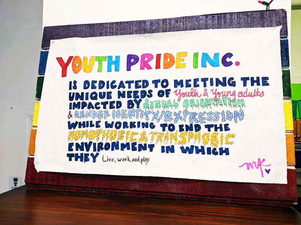 Nominee Youth Pride Inc. (YPI)