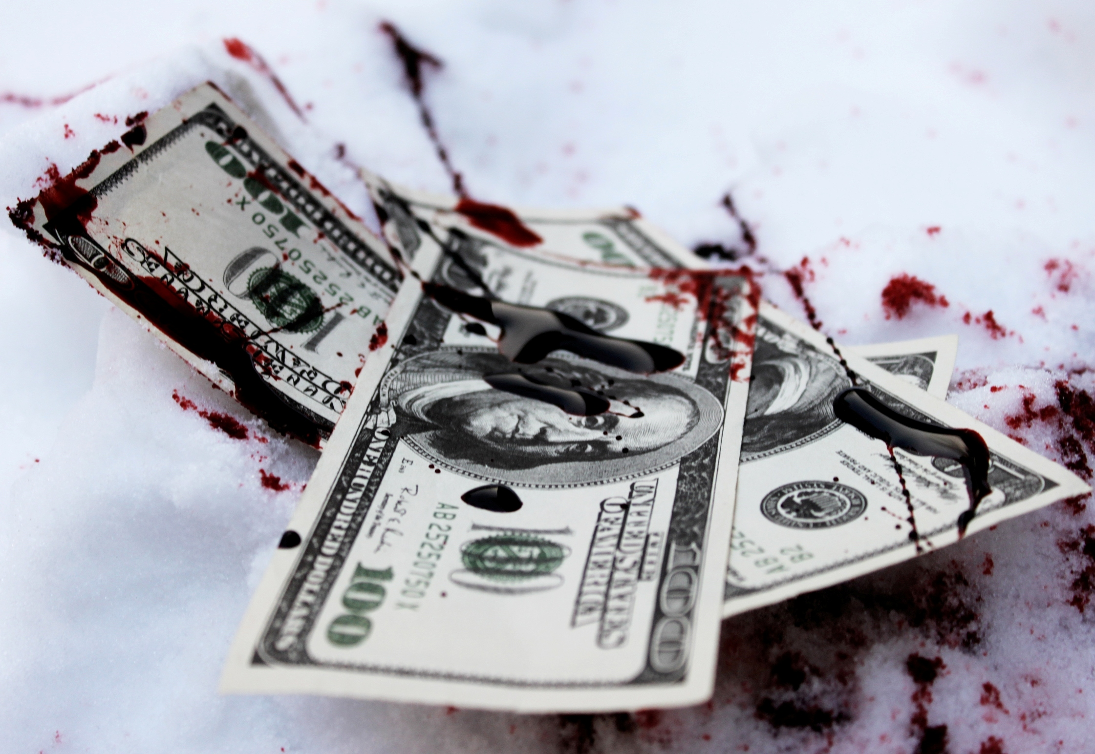 Money Kills by WhiteEyedFrog