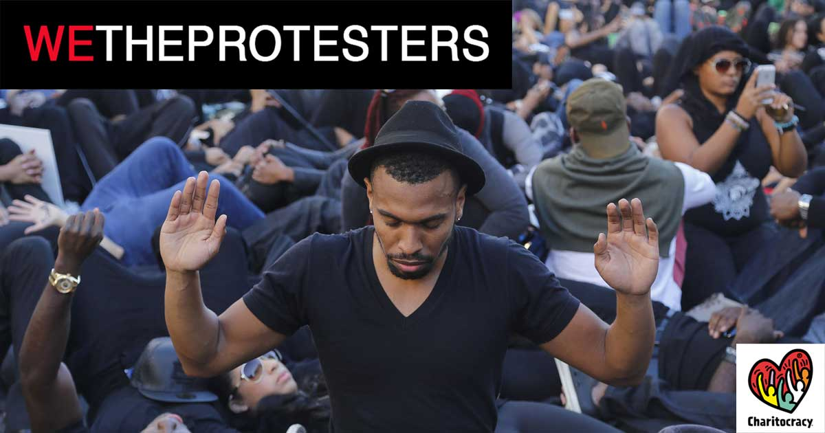 We The Protesters Charitocracy Facebook Share