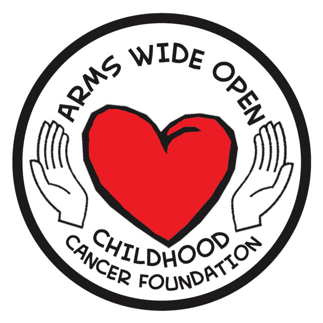 Arms Wide Open Childhood Cancer Foundation logo